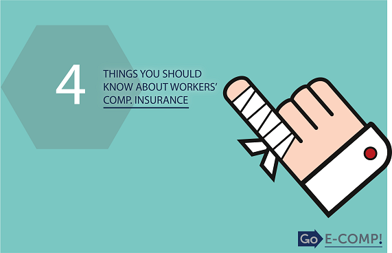 4 things you should know about workers' comp. insurance